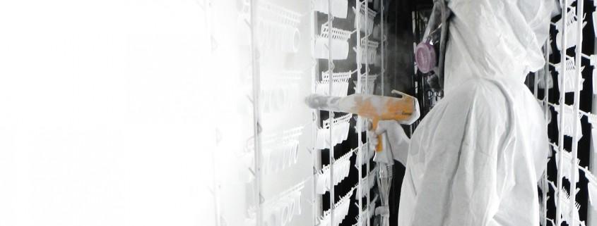 service peinture en poudre